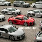 Hơn 20 siêu xe Audi R8 xuất hiện cùng lúc