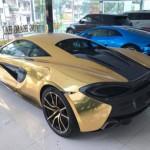 Thêm 8 triệu đồng siêu xe của Cường đôla độ như bọc vàng