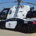 Dàn siêu xe khủng của cảnh sát thế giới