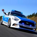 Ngắm siêu xe Ford Mustang tốc độ của cảnh sát Đức