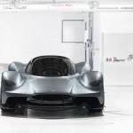 Vẻ đẹp siêu xe Aston Martin AM-RB 001