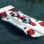 Ngắm siêu xe lai tàu ngầm độc đáo Aquahoverer