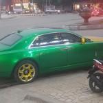 Xe siêu sang Rolls royce Ghost độ kiểu Dubai của đại gia Ninh Bình