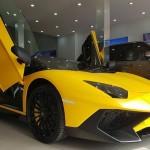 Siêu xe Lamborghini Aventador SV mui trần giá 39 tỷ đồng ở Việt Nam