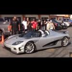 Floyd Mayweather lái siêu xe Koenigsegg CCXR Trevita dạo phố