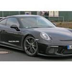 Siêu xe đua Porsche 911 GT3 2017 xuất hiện trên đường thử