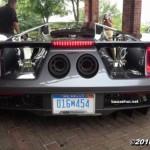 Siêu xe Ford GT 2017 lần đầu xuất hiện nẹt pô trên phố