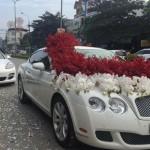 Dàn xe siêu sang chục tỷ trong đám cưới khủng ở Bắc Kạn
