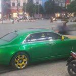 Rolls royce ghost độ 10 tỷ xuất hiện trên phố ở Ninh Bình