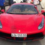 Choáng siêu xe Ferrari 488 GTB biển ngũ quý khủng ở Đà Nẵng