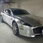 Ngắm siêu xe Aston martin Rapide S 12 tỷ của đại gia Ninh Bình