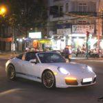 Siêu xe Porsche 911 Targa 4S mới của đại gia Sài Gòn