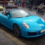 Siêu xe Porsche 911 Targa 4 mới của đại gia Đà Nẵng