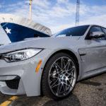 Xe hiệu suất lớn BMW M3 màu sơn xám cực độc