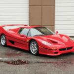 Siêu xe Ferrari F50 của Mike Tyson rao bán giá 2,3 triệu đô