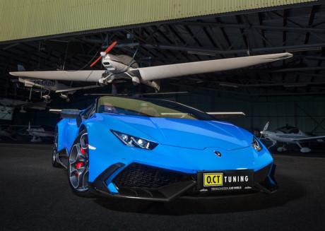 Siêu xe Lamborghini Huracan độ mạnh mẽ 794 mã lực