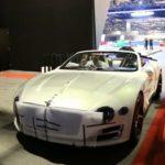 Ngắm siêu xe mui trần Bentley EXP 12 Speed 6e ngụy trang ra về