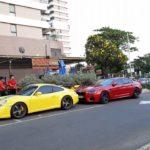 """Ngắm dàn siêu xe khủng """"xếp hàng"""" trên phố Sài Gòn"""