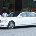 Ngắm xe Maybach 62S MC Thành Trung dùng để rước dâu