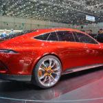 Ngắm siêu xe sedan Mercedes-AMG GT 4 cửa ngoài đời thực