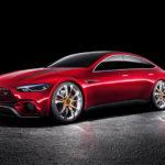 Siêu xe Mercedes AMG GT Concept 4 cửa lộ ảnh chính thức