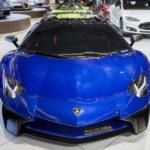 Lamborghini Aventador SV mui trần tuyệt đẹp gần giống xe Minh nhựa