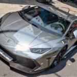 Đại gia Sài Gòn độ siêu xe Lamborghini Huracan cực độc
