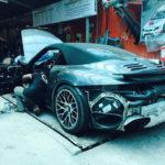Siêu xe Porsche 911 Turbo S mui trần đi làm đẹp ở Việt Nam