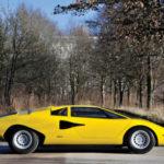 Vẻ đẹp vượt thời gian của siêu xe Lamborghini Countach