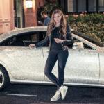 Nữ sinh Nga sở hữu siêu xe Mercedes gắn triệu viên pha lê