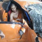 Sư thầy chịu chơi mượn siêu xe phóng nhanh và gây tai nạn