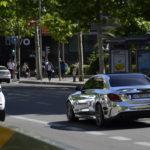 Xe siêu sang Mercedes-AMG C63 S độ áo mạ chrome sáng bóng