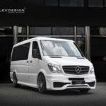 Mercedes Sprinter độ siêu sang như nhà di động