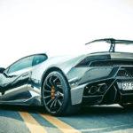 Siêu xe Lamborghini Huracan độ body kit Full của đại gia Việt