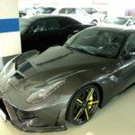 Ngắm siêu xe Ferrari F12 độ của tiền đạo bóng đá Arsenal