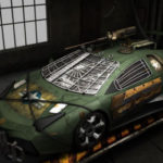 Siêu xe Lamborghini Reventon độ kiểu phim viễn tưởng