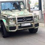 Tay chơi Sài Gòn độ xe siêu sang Mercedes G63 AMG màu rằn ri