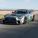 Siêu xe đua khủng Mercedes AMG GT4 lộ diện ngoài đời thực