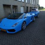 Siêu xe Lamborghini Gallardo mui trần độ thành xe kéo