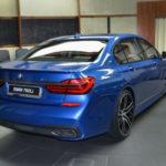 Xe siêu sang BMW M760Li màu xanh cực dị