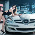 Top chân dài xinh đẹp nhất đọ dáng cùng siêu xe Mercedes danh giá