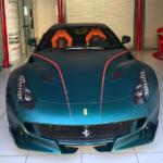 Ferrari F12tdf xanh lá của đại gia chuyên thích màu xanh