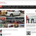 Baoxehoi.net đổi giao diện đẹp và hiện đại mới