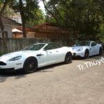Đại gia cà phê Trung Nguyên lái siêu xe Aston martin trên phố