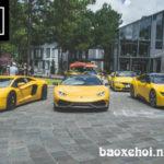 Dàn siêu xe Ferrari, Lamborghini, Aston martin nẹt pô ở Đà Lạt giữa đêm
