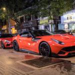 Choáng ngợp dàn siêu xe mừng sinh nhật 1 đại gia Sài Gòn