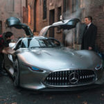 Siêu xe triệu đô Mercedes AMG Vision xuất hiện trong phim Justice League
