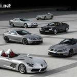 Những siêu xe Mercedes đẹp nhất từ xưa đến nay