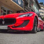 Siêu xe Maserati GranTurismo Sport màu đỏ của đại gia Sài Gòn