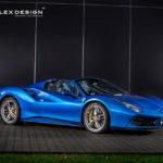 Siêu xe Ferrari 488 mui trần độ nội thất siêu sang bởi Carlex Design